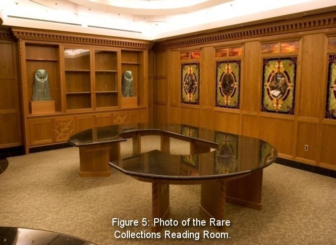 Figure 5: Photo of the Rare Collections Reading Room.